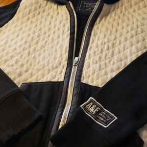 Abercrombie & Fitch fleece lined hoodie